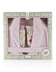 Floral Collection Bath Robe Gift Set
