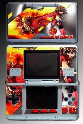 Bakugan game toy ball sphere dan Vinyl Decal Skin Protector Cover for Nintendo DS