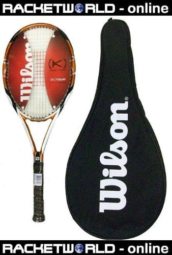 Wilson [K} Tour 95 Tennis Racket RRP £150 L2