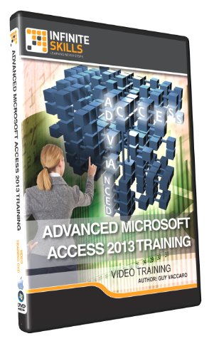 Advanced Microsoft Access 2013 - Training DVD