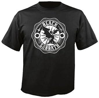 BLACK SABBATH - Lucifer Rising - White - T-Shirt Größe S