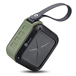 Outdoor / Shower Bluetooth Speakers Taotronics Portable Bluetooth 4.0 Speaker with 15 Hour Playtime for Outdoor / Shower
