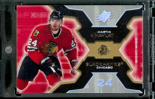 2006-07 Upper Deck SPX #20 Martin Havlat Chicago Blackhawks Hockey Card - Mint Condition - In Protective Display Case - Buy 2006-07 Upper Deck SPX #20 Martin Havlat Chicago Blackhawks Hockey Card - Mint Condition - In Protective Display Case - Purchase 2006-07 Upper Deck SPX #20 Martin Havlat Chicago Blackhawks Hockey Card - Mint Condition - In Protective Display Case (Upper Deck, Toys & Games,Categories,Games,Card Games,Collectible Trading Card Games)