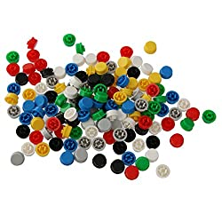 Magideal 140pcs Round Tactile Button Caps Kit For 12x12x7.3mm Tact Switches