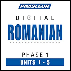Romanian Phase 1, Unit 01-05 Audiobook