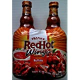 Franks Red Hot Wings Sauce 2 x 680ml