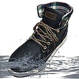 [防水] リベルト エドウイン レインシューズ メンズ ブーツ レインブーツ スノーブーツ スノーシューズ 防滑 防寒 スニーカー 60246-bl-270