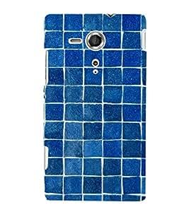 Fuson Premium Printed Hard Plastic Back Case Cover for Sony Xperia SP