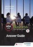 img - for AQA A Level Business 1 (Wolinski & Coates) Answers book / textbook / text book
