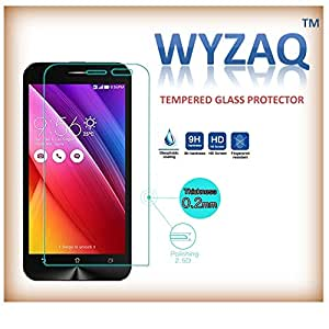 Wyzaq Premium QualityTempered glass Screen Guard protector for Micromax Canvas Fire 4G Q484