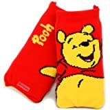 Disney Red Winnie The Pooh Sock Cover Pouch Case Suitable For Samsung Galaxy Y S5360