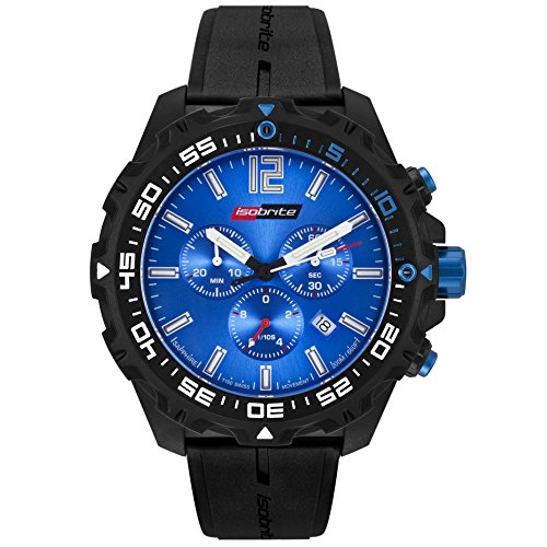 - 51caAQ0rfUL - Armourlite Isobrite ISO402 T100 Blue Chronograph with Tritium Illumination and Sapphire Crystal Watch
