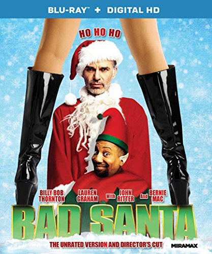 Bad Santa - The Unrated Version and Director's Cut [Blu-ray + Digital HD]