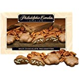 Philadelphia Candies Milk Chocolate Pecanettes (Caramel Pecan Turtles), 1-pound Gift Box