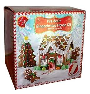 Create A Treat Pre Built Gingerbread House