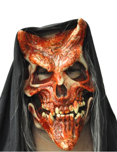 Scary-Masks Whisper Halloween Costume - Most Adults
