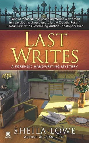 Book: Last Writes - A Forensic Handwriting Mystery by Sheila Lowe