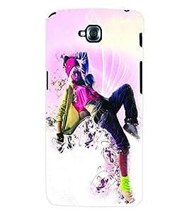 ColourCraft Dance Back Case Cover for LG G PRO LITE D680