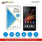 PIXLTOUCH Best Quality100%Premium Glass Tempered Glass For Sony Xperia C Screen Protector Tempered Glass