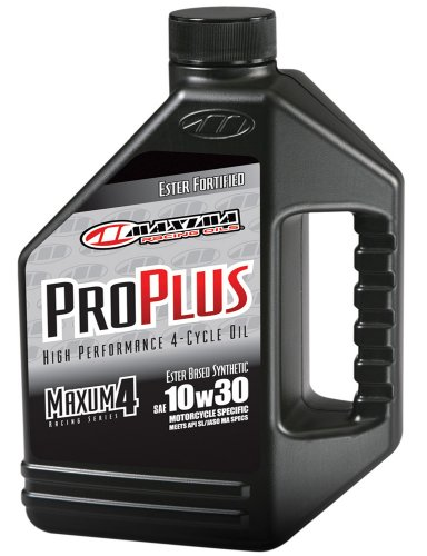 Maxima (30-019128) Pro Plus+ 10W-30 Synthetic Motorcycle Engine Oil - 1 Gallon Jug (Mobile 1 Motorcycle Synthetic Oil compare prices)