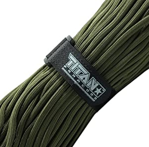 Titan™ Genuine Military 550 Paracord - Authentic