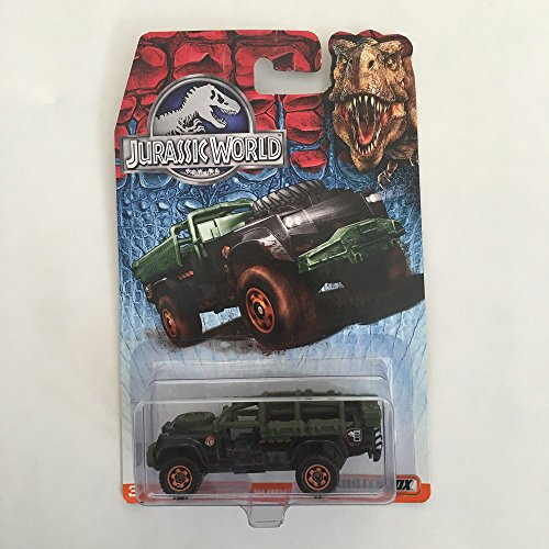 Matchbox Jurassic World Collectible SAHARA SURVIVOR Vehicle - Gray