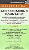 img - for Map San Bernardino Mtn Rec 6/E: San Bernardino Natl Forest & San Gorgonio / San Jacinto Wild Areas book / textbook / text book