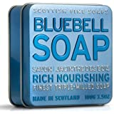 Scottish Fine Soaps Bluebell Soap 100g in Tinby Scottish Fine Soaps