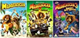 The Complete Madagascar 1 - 3 DVD Collection: Madagascar / Madagascar 2: Escape to Africa / Madagascar 3: Europe's Most Wanted (3 DIscs)