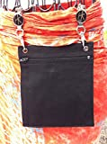 Hip Klip & Hip Purse (Vertical Black) Everything is handy! by NYC Leather Factory Outlet