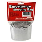 Emergency Sleeping Bag, Survival Bag, Emergency Zone Brand, Reflective Blanket