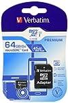 Verbatim 44084 64GB microSDXC Class 1...
