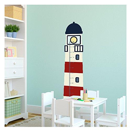 wandmotiv messlatte leuchtturm 41 x 169 cm wandbild f r wand und tapete wohnung oder. Black Bedroom Furniture Sets. Home Design Ideas