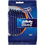 Gillette Blue II Disposable Razors 20 pack