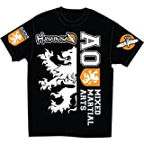 Hayabusa Official MMA Alistair Overeem Signature T-Shirts - Black (M)