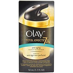 Olay Total Effects Anti-Aging Fragrance Free Moisturizer 1.7 Fl Oz