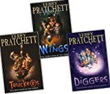 Terry Pratchett Terry Pratchett The Nomes 3 Books Collection Pack Set RRP: £20.36 (Truckers, Diggers, Wings)
