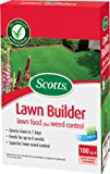 Scotts Lawn Builder 100 sq m Lawn Food Plus Weed Control Carton