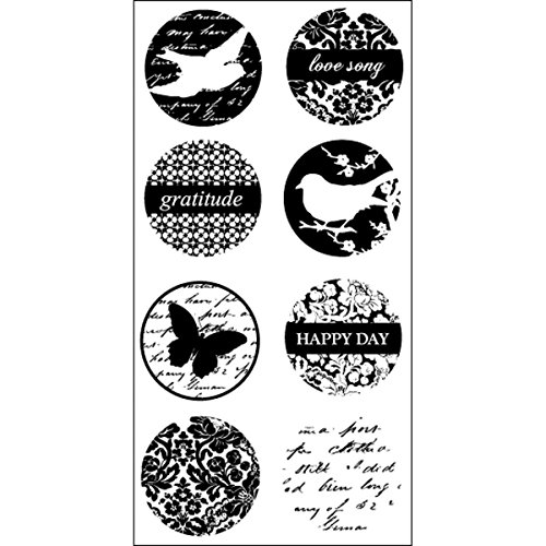 Hampton Art Circle Birds Rubber Stamp - 1
