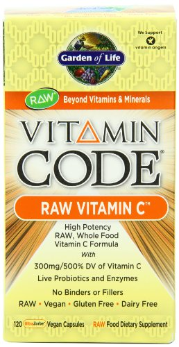 Garden of Life Vitamin Code Vitamin C, 120 Capsules