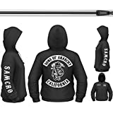 Sons Of Anarchy Zip Style Hoodie (S - 3XL)