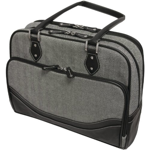 MBLMEWHCL - MOBILE EDGE MEWHCL Herringbone Briefcase for 16