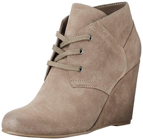 Dolce Vita Women's Gwen Ankle Bootie, Dark Taupe, 7 M US