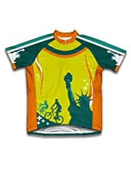 Liberty Trail Short Sleeve Cycling Jersey for Women