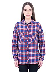 Oxolloxo Women high-low cotton shirt