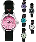 Ladies Momentum M1 Dive Watch Webbing Strap - Luminous Face