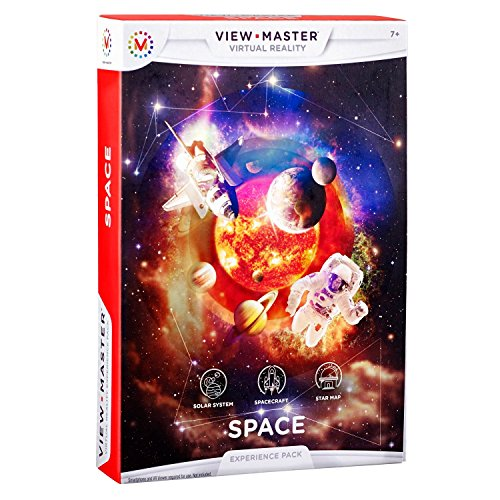 View-master - Pack experiencia: espacio (Mattel DLL70)