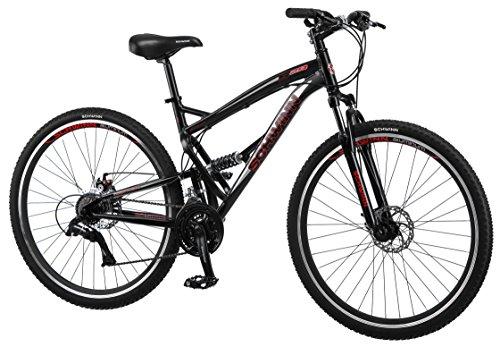 schwinn s29 mens 29 wheel full suspension mountain bike - Mountain Bike Frame Sizes