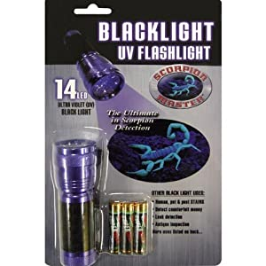 Scorpion Master 32 LED Ultraviolet Flashlight