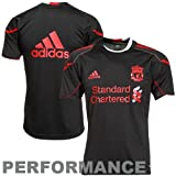 adidas Liverpool Club Team Training Performance Jersey - Black (XX-Large)